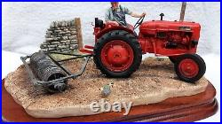Border Fine Arts tractor,'TURNING WITH CARE'B0094, New in original box with cert