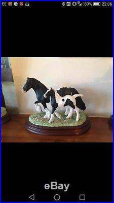Border Fine Arts vanna mare and foal traditional coloured gypsy cob