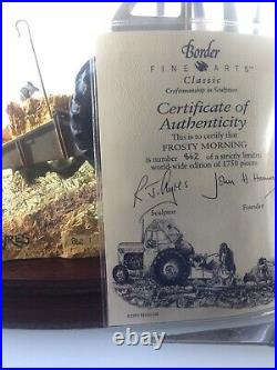 Border Fine ArtsFrosty Morning Fergie TE20 Tractor. Model B0343 Ltd Ed Of 1750
