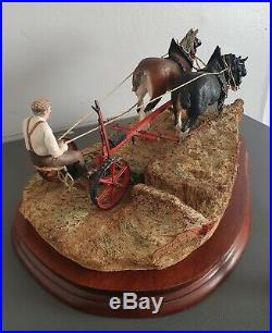 Border fine Arts Limited Edition (Gold Edition) Hay Cutting Starts Today