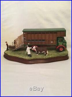 Border fine arts. A SHOWDAY TO REMEMBER. Cattle Wagon