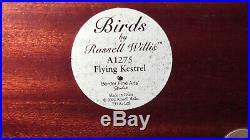 Border fine arts'Birds A1275 Flying Kestrel by Russell Willis