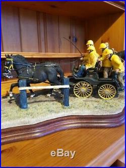 Border fine arts Classic, Teamwork. Limited edition. Horses
