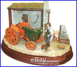 Border fine arts GOING GREEN Fordson tractor /Army land girl BRAND NEW