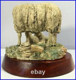 Border fine arts Sheep Cheviot Ewe and Lambs LE250 MLH