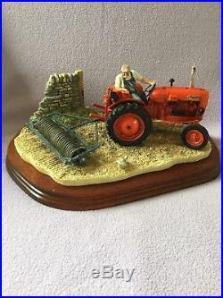 Border fine arts TURNING WITH CARE Nuffield Tractor