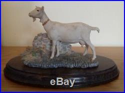 Border fine arts dr kirbys dorothy goat 1985 original ayres extremely rare