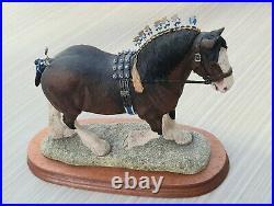 Border fine arts limited edition Shire Horse