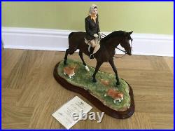 Border fine arts morning exercise at Balmoral number 359 ltd 500 new in box