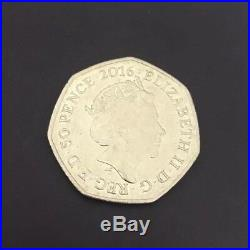 COLLECTABLE MRS TIGGY WINKLE 150 YEARS BEATRIX POTTER 2016 50p FIFTY PENCE RARE