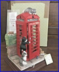 Comic Curious Cats Cat Calls` Linda Jane Smith` Limited Edition`(missing beak)