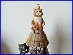 Comic & Curious Cats Linda Jane Smith Birds Eye View Ltd Edition A0913