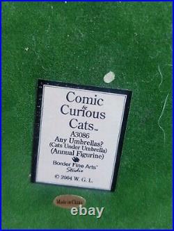 Comic & Curious Cats any umbrellasA3086 YEAR 2004(PLEASE READ DESCRIPTION)