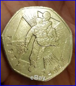 Commemorative WWII 50 Pence Coin 2006
