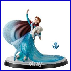 Disney Moment In Time Frozen Anna Elsa Border Fine Arts Ltd 350 Traditions New