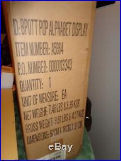 Enesco Beatrix Potter Border Fine Arts Complete Alphabet Letter Display NEW BOX
