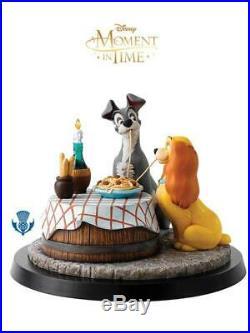 LILLI E IL Vagabondo Statua A Moment In Time 29 CM Disney Border Fine Arts #1
