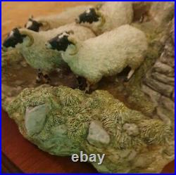 Limited Edition 425 / 1750 Border Fine Arts figural group'The Crossing' #B0013