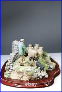 Limited Edition 78 / 1750 Border Fine Arts figural group'The Crossing' #B0013