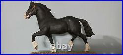 Limited edition border fine arts Black Welsh Cob Stallion