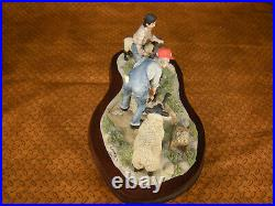 Lowell Davis Sheep Shearin' Time Figurine Ltd ED Schmid Border Fine Arts