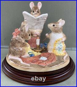 Ltd Ed Border Fine Arts A3101 Beatrix Potter The Tailor Of Gloucester Figurine