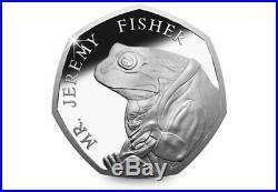 Mr Jeremy fisher 50p