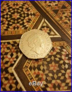 Mrs tiggy winkle 50p coin 2016 rare coin