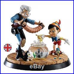 NEW Border Fine Arts Walt Disney A Moment In Time Pinocchio & Geppetto Model
