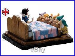 NEW Border Fine Arts Walt Disney A Moment In Time Snow White & The Seven Dwarfs