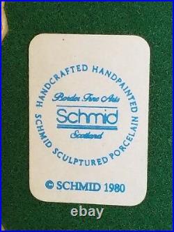 NEW RARE 1980 Lowell Davis Schmid Border Fine Arts Uncle Remus Brer Coyote