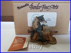 NEW RARE 1980 Lowell Davis Schmid Border Fine Arts Uncle Remus Brer Wolf