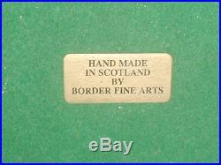 Original, Very Rare, Old, Border Fine Arts, Stunning, COURTING GREBES, Code WW3