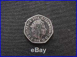 Peter Rabbit 50p Fifty Pence Coin Collectable circulated 2016