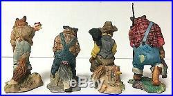 RARE Schmid Lowell Davis Border Fine Arts Uncle Remus Figurine Collection 1980