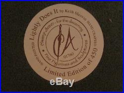 REDUCED Very rare Country Artists LIGHTLY DOES IT Limited Edition. 307 /450