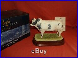 Rare BFA Border Fine Arts BELGIAN BLUE BULL Style One Ltd Ed