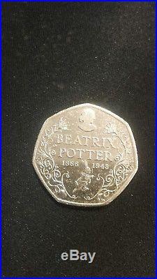 Rare Beatrix Potter collectable 50p