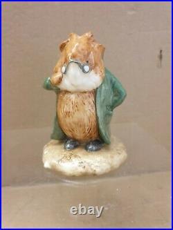 Rare Beswick Beatrix PotterHead Gardener BP11a. Figurine