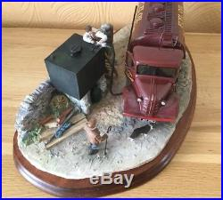 Rare Border Fine Arts Fuelling The Farm Ray Ayers Limited Edition 59/500