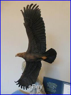Rare Border Fine Arts Lord of the Glen Golden Eagle Limited Edition