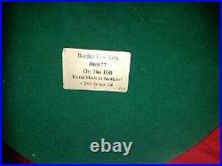 Rare Border Fine Arts On The Hill B0877 Ltd Edition By Craig Harding