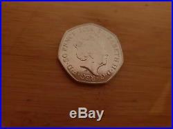 Rare Peter Rabbit Beatrix Potter 50p Coin