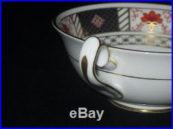 Royal Crown Derby, Derby Border Pattern 6 x Soup Cups