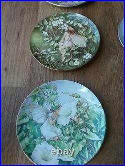 The Festival Of Flower Fairies By Cicely Mary Barker Collectable Plates Set X 9