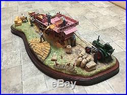 The threshing mill border fine arts millennium piece