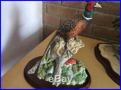 Woodland Majesty Bfa96 Signed By Ray Ayres Master Sculptor And Designer Border F